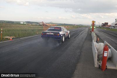 Старт Руслана Зуева на тренировочных заездах.