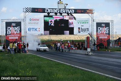 Ячменев С. (Nissan Silvia) против американца на Dodge Viper.