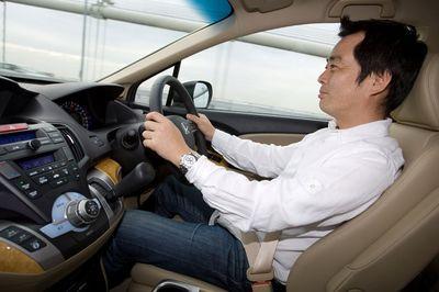 Honda Odyssey на тест-драйве.