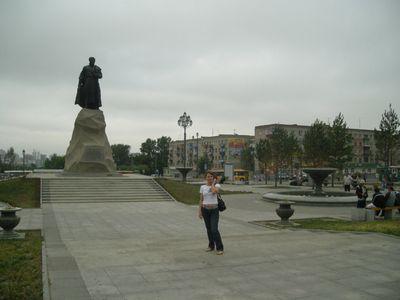 Перегон Владивосток — Новосибирск, июнь — июль 2008.