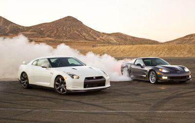 Сравнение Chevrolet Corvette ZR1 и Nissan GT-R: Кинг-Конг из рода Корветтов против японской Годзиллы.