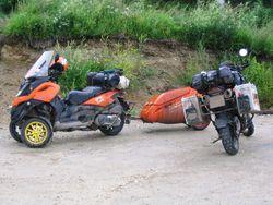 Из Новосибирска, из Иркутска… Из Германии на Байкал на мотоциклах — вот это круто!