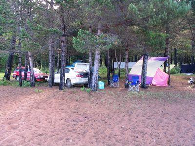 Наш лагерь в Гремячинске.