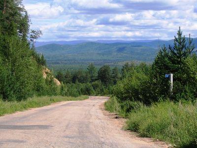 Дороги в Баргузинском районе.