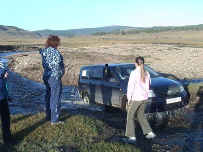 «АвтоЛеди» на Хубсугуле, август — сентябрь 2008 года.