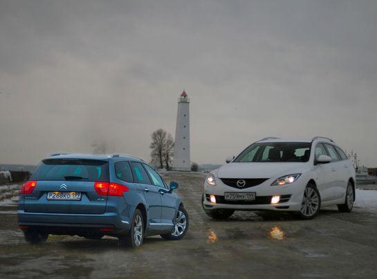 Citroen С5 и Mazda6
