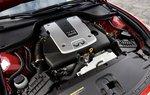 Обладая мощностью 330 л.с., крутящим моментом 366 Нм и способностью достигать 7600 оборотов, двигатель G37 впереди.