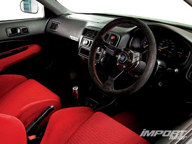 Интерьер Civic Type R X