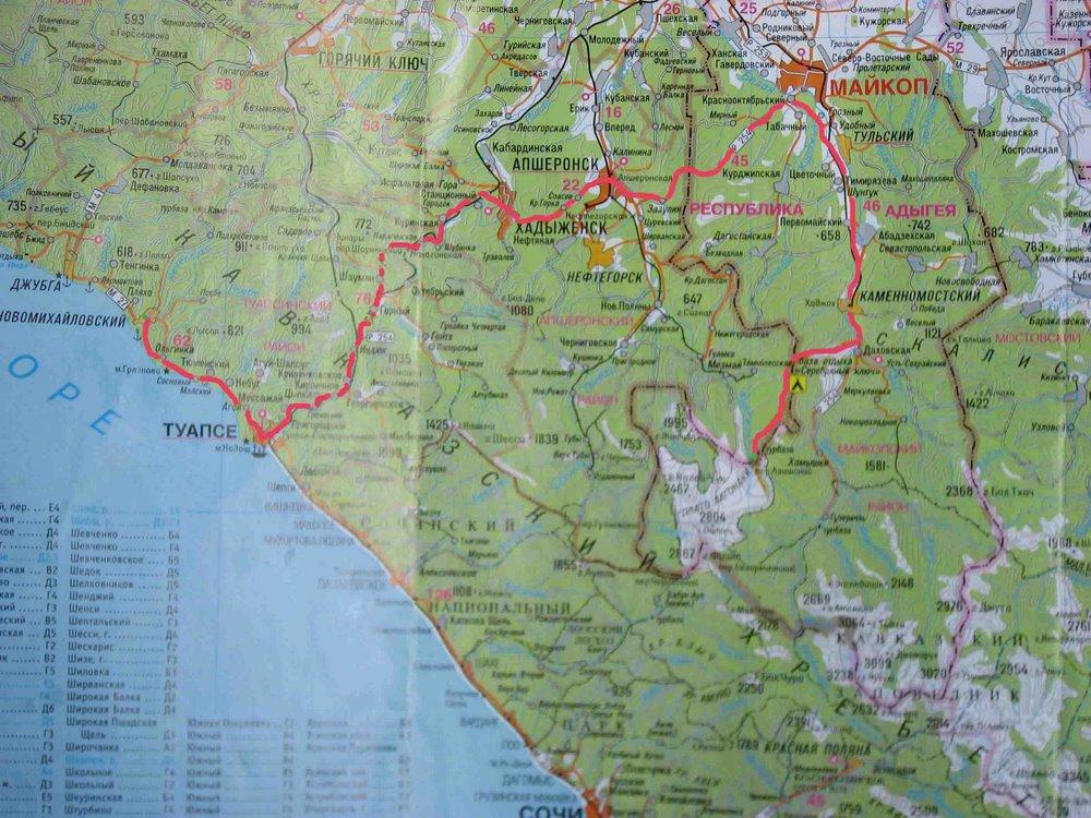 Лагонаки на карте краснодарского края фото