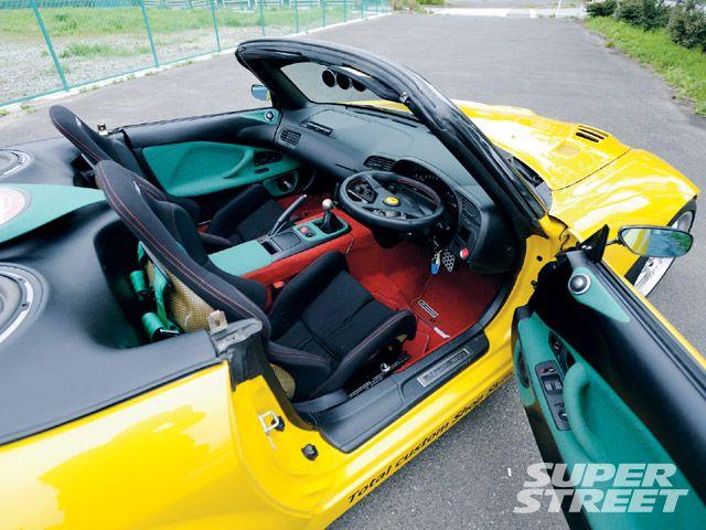 Салон Honda S2000