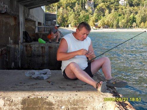 Рыбалка днем...