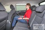Хорошая настройка подвески дарит комфорт и пассажирам на заднем сиденье.