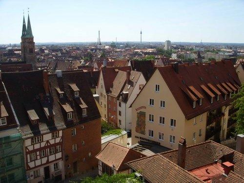 Вид на город с Кайзерберга.