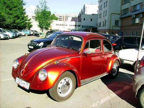 Машина не наша, но очень красивая.
