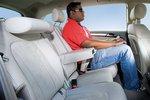 Благодаря удобному заднему сиденью пассажирам в заднем ряду очень комфортно путешествовать.