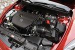 Двигатель Mazda, атмосферный 2,5-литровый 4-цилиндровый «рядник», оснащен балансировочным валом для уменьшения вибрации. Его мощность составляет 170л.с. и 226,4Нм крутящего момента.