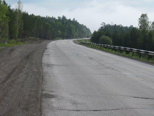 Вопреки ожиданиям, трасса М-5 на Урале не сильно загружена.