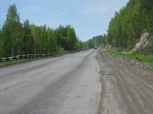 Там же, на Урале, на М-5.