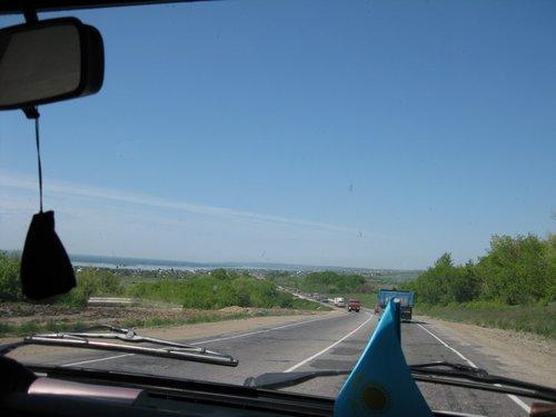 Волга на горизонте.