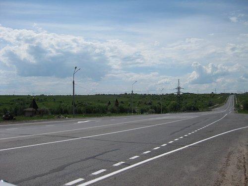 Дорога в Самарской области.
