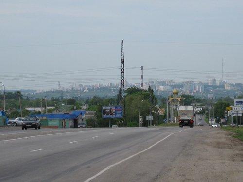 На въезде в Белгород.