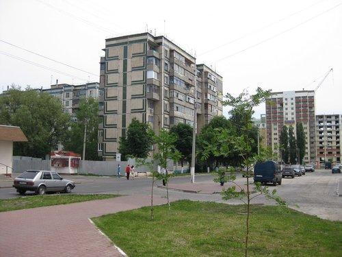 На одной из улиц Белгорода.