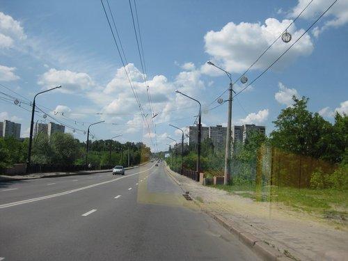 На окраине Харькова.