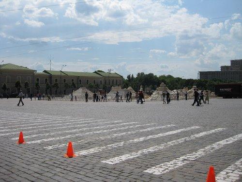 Немного Египта на площади.