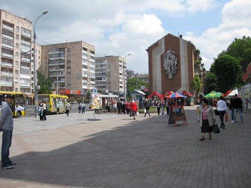 В центре г. Ровно.