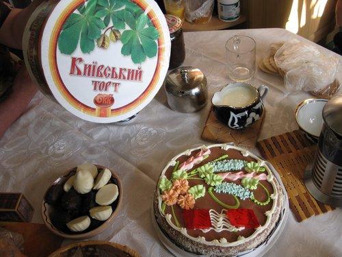 Знаменитый торт «Киевский».