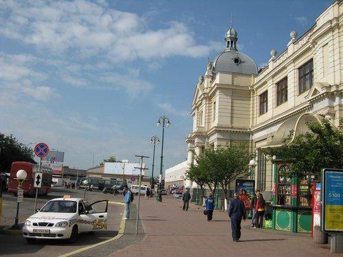 Львовский вокзал.