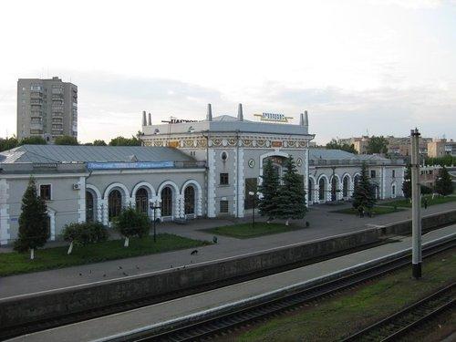 Вокзал г. Ровно.