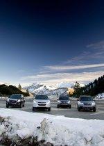 GMC Terrain, Honda CR-V, Hyundai Tucson и Subaru Forester