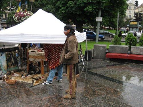 Индейцы в Львове.