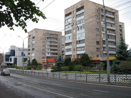 Ровенские девятиэтажки.