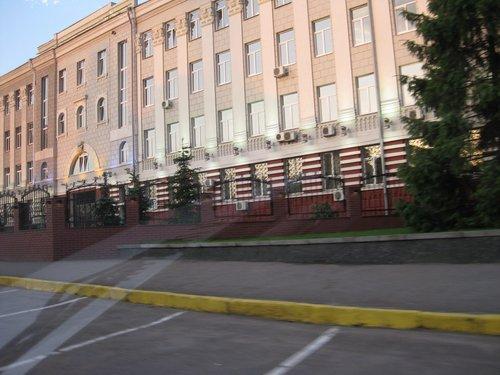 Рано утром в Днепропетровске.