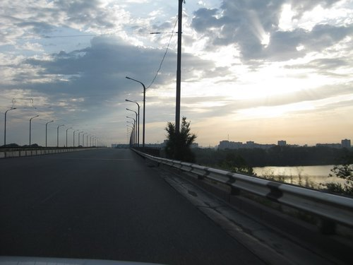 Мост через Днепр.