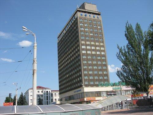 Отель «Луганск».