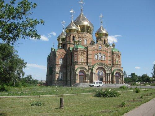 Свято-Владимирский кафедральный собор.