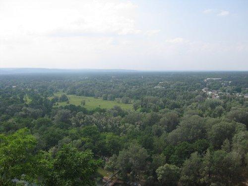Вид со Святой горы.