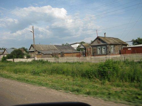 Деревня в Самарской области.