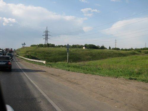 Около Жигулёвска трафик становится плотнее.