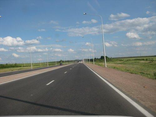 Дорога на Караганду.