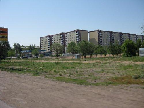 Окраины Караганды.