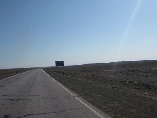 Марсианский пейзаж (удалите только дорогу и щит).