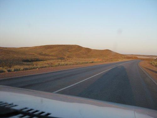 На «Марсе» дорога нормальная.