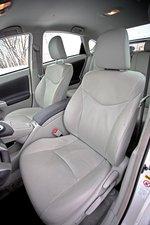 Сидение водителя в Toyota Prius