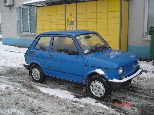 Народный польский автомобиль Фиат.