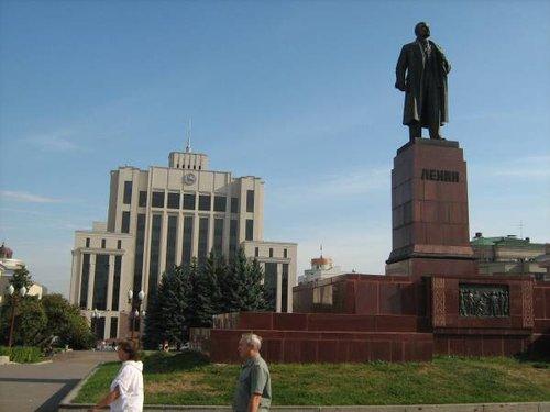 Центральная площадь Казани.