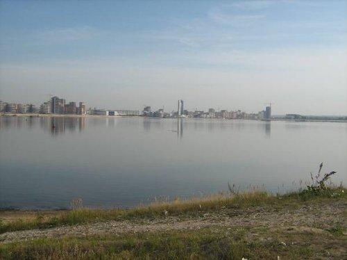 Куйбышевское водохранилище.